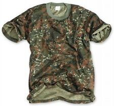 Classic Army Style T-Shirt Kurzarm Shirt Flecktarn S-3XL Tarnshirt Armyshirt