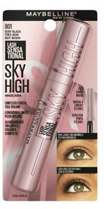 Maybelline Lash Sensational Sky High Mascara Makeup Very Black 801 TikTok