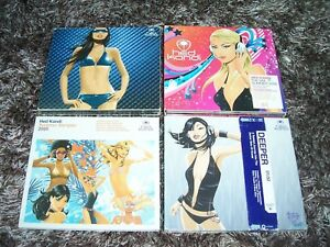 Hed Kandi dance 4 CD lot Disco Kandi Summer Mix 2006 Summer sampler 2005 Deeper