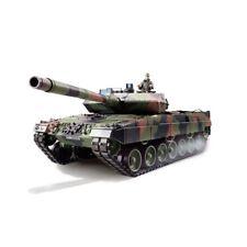 RC tanques leopard 2a6 con metal engranajes, sonido, generador de humo 1:16 TORRO ed