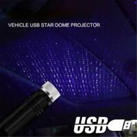 1x Mini USB LED Car Roof Star Night Lights Projector Light Car Atmosphere Light