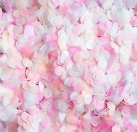 Biodegradable Wedding Confetti - Pink Peach & White Party Confetti - SALE