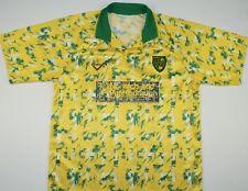 1992-1994 NORWICH CITY RIBERO HOME FOOTBALL SHIRT (SIZE L)
