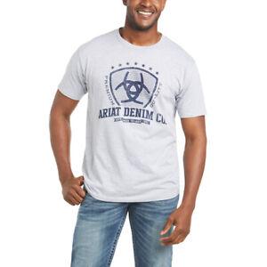 Ariat Men's Shield Athletic Heather Tee Shirt 10035625