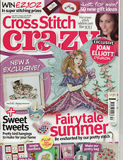 July Cross Stitch Crazy Craft Magazines