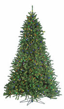 """9'x70"""" Pre-Lit Grand Canyon Holiday & Christmas Spruce Tree w/Multi-Color Lights"""
