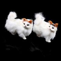 Handicraft kitten simulation animal cat car ornament creative gift home decor FO