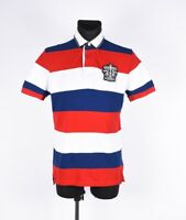 Tommy Hilfiger Rayé Hommes Polo Taille M
