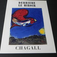 Derriere le Miroir 1950 Art Book # 27-28 with original lithographs by CHAGALL