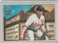2000 Pacific Crown Royale - Feature Attractions #22 Mark McGwire