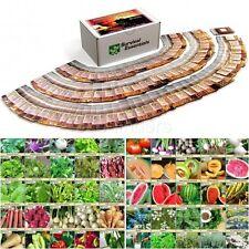 Heirloom Seed Kit Survival Non Hybrid Non GMO Plant Garden Medicinal Vegetable