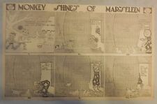 Monkey Shines of Marseleen By Norman E. Jennet from 1909 Half Page Size (Clown)