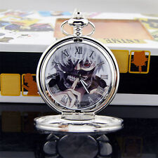 Tokyo Ghoul Pocket Watch Necklace Kaneki Ken Anime Cosplay Gift New with box