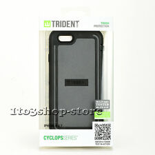 Trident Cyclops iPhone 6 iPhone 6s vRugged Hard Shell Snap Case Cover Gray