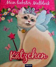 Mein Liebster MalBlock Kätzchen Malbuch für Kinder 12 Seiten