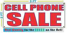 CELL PHONE SALE Banner Sign NEW LARGER SIZE Best Quality for the $$$
