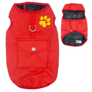 Waterproof Dog Vest Clothes Warm Winter Coat Jacket for Small Medium Large Dogs