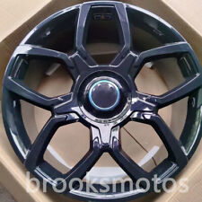 """24"""" NEW FORGED WHEELS RIMS FITS FOR ROLLS ROYCE CULLINAN 24X10 GLOSS BLACK"""