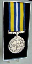 Canada Canadian Coast Guard Exemplary Service Medal Full Size - Original Superb