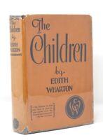 Edith Wharton - The Children - HCDJ 1st 1st - Author Age of Innocence - NR