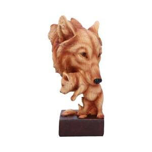 Natural Protection 21.5cm Wolf Figurine