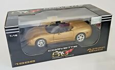 ERTL 1/18 1998 AZTEC GOLD CORVETTE CONVERTIBLE 1 OF ONLY 835 PRODUCED