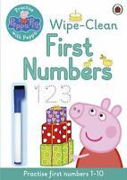 Peppa Pig Practise with Peppa Wipe-Clean First N by Peppa Pig New Paperback Book