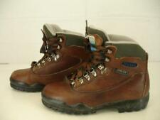 Womens 7.5 M Tecnica Acadia Brown Leather Hiking Boots Gore-Tex Waterproof Ankle