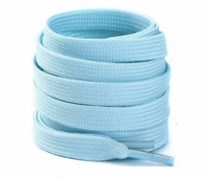 FLAT SHOE LACES approx 60cm - BLUE
