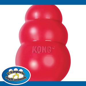 Kong Classic M Gioco Per Cani 7-16Kg In Gomma Naturale e Rimbalzante