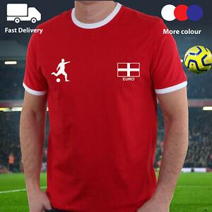 ENGLAND T Shirt Tee Top Football 3 Lions Mens Kids Ladies World Cup 2021 Jersey