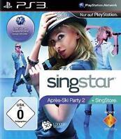 Playstation 3 SINGSTAR APRES SKI PARTY 2 * Brandneu