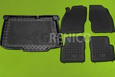 Gummi-Fußmatten+Kofferraumwanne OPEL CORSA D Standard 2006-2014