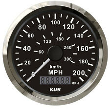 GPS Speedometer 200MPH 300KMH Stainless Steel bezel Car Truck Waterproof Gauges