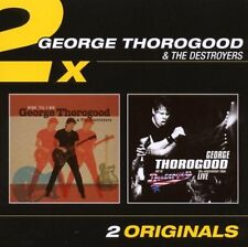 George Thorogood - RIDE'TIL I DIE + 30TH ANNIVERSARY TOUR LIVE NEW SEALED 2CD