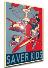 Poster Propaganda - Kinkyu Hasshin Saver Kids - Characters - LL2469