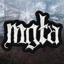 Mgla / Mgła - Logo | Embroidered Patch | Polish Black Metal Band