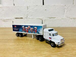 Matchbox Super Rigs Pepsi Tractor Mack CH600 Trailer Truck Container Transporter