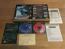 PC CD-ROM Classics Fighters Anthology CIB Complete