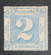 Travelstamps: 1859-1865 Germany Thurn & Taxis Stamps Scott # 25, Mint, Og Hinged