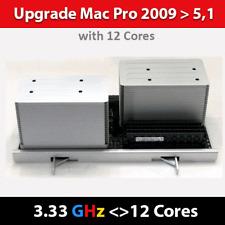 Mac Pro 2009 | <> CPU Tray <> | 12-Core 3.33 GHz | Model ID 4,1 > 5,1| 128GB RAM
