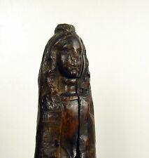 Sculpture religieuse XVIe-XVIIe Vierge Marie religious Virgin Maria carved wood