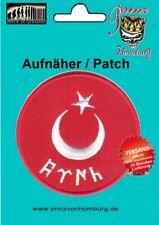 Türkei Flagge Aufnäher Patches Embleme Türkei Bonkurt Osmanen 100% gestickt