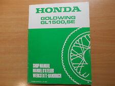 Honda Goldwing GL 1500 (N) 1992 Atelier Manuel supplémentaire Addendum SUPPLEMENT