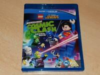 LEGO Justice League Cosmic Clash Blu Ray **FREE UK POSTAGE**
