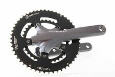 USED Shimano Ultegra FC-6750 Crankset 172.5mm 52/36t Praxis Works Chainrings