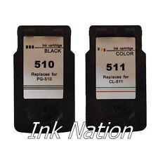 Canon PG-510 Black & CL-511 Colour Remanufactured Ink Cartridge