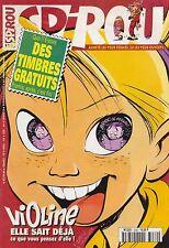 Magazine Spirou 3282. Sans les timbres