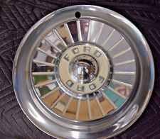 "1957 Ford Thunderbird, Fairlane 14"" Starburst Wheel Covers Set of 4"