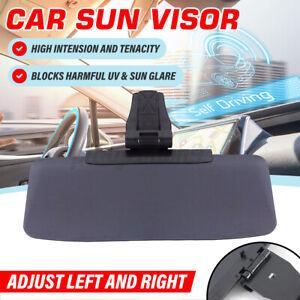 Universal Clip on Car Shade Sun Visor Extension Anti Glare Mirror Window Shield